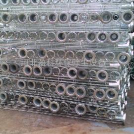 呼和浩特布袋除尘骨架厂家制作发电厂弹簧除尘骨架