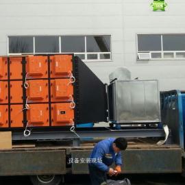 【注塑废气处理设备】注塑废气治理及废气设备安装