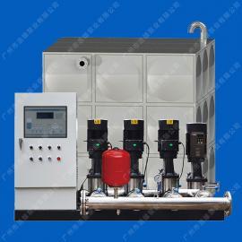 箱式无负压变频供水设备_带水池水箱的无负压二次给水设备