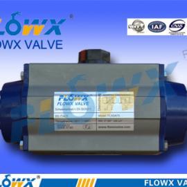 气动执行器配FLXC-2/5单电控电磁阀
