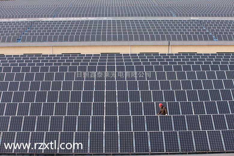 济南太阳能电池板厂家,太阳能并网发电站,太阳能电池板价格