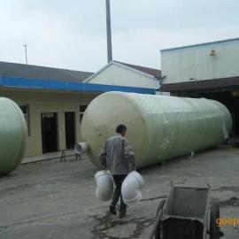 居民小区生活污水处理器玻璃钢生物化粪池