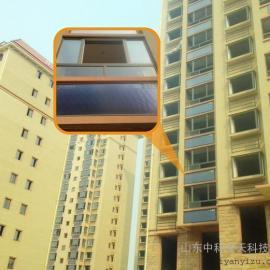 河南阳台太阳能热水工程平板太阳能品牌