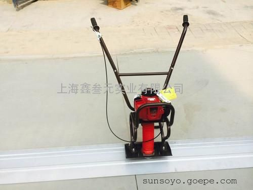 小型汽油路面整平机刮板机混凝土震动尺
