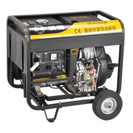 5KW小型柴油发电机价格HS6500E