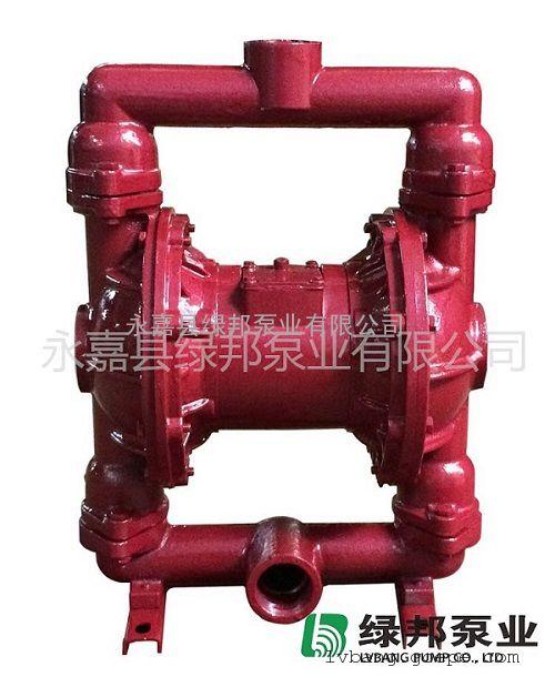 QBK-25TD铸铁气动隔膜泵