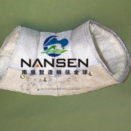 弯头防烫隔热套弯头保温布包弯头可拆卸式柔性隔热保温罩