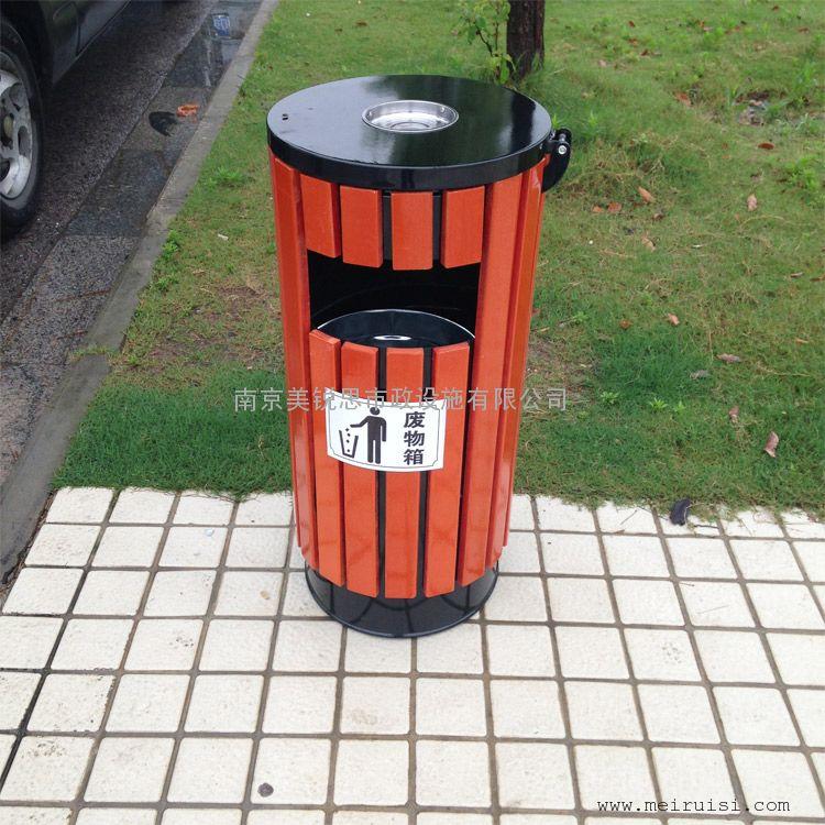 南京市太阳城小学附属幼儿园垃圾桶交货现场