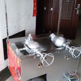 郑州干嘣鸡机器参数价格说明