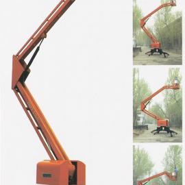 曲臂式高空作业车 折叠式升降机 移动式升降机