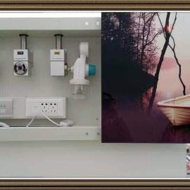壁挂隐藏式医用设备带