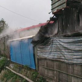 水雾降温设备