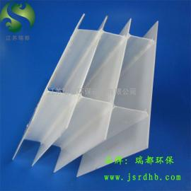 PP斜板填料,乙丙共聚斜板填料-V型沉淀池小间距斜板填料