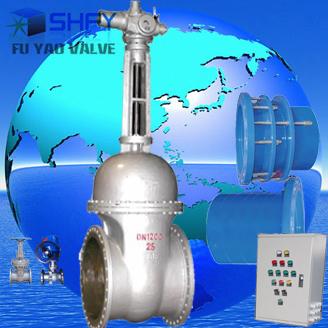 水轮机进水电动闸阀-dn1200水机图片
