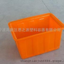 厂家供应锦州90L耐酸碱 加药桶塑料方箱
