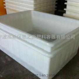 厂家供应特价加厚塑料水箱300L升养殖专用箱方箱周转箱