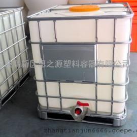 1000L塑料吨桶 耐酸碱塑胶桶 塑料化工桶