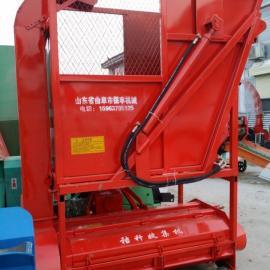 吉林省 玉米秸杆回收机带料箱 使用方法