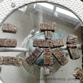 新密生物质花生壳压块燃料