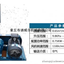 低噪音罗茨风机2.2KW