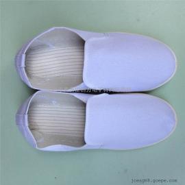 舒适型SPU底白色帆布防静电鞋厂家