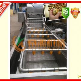 供应希源牌6000型洗果洗菜机|气泡喷淋多功能清洗设备