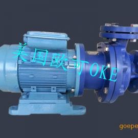 进口钢衬四氟磁力泵(耐腐蚀高温磁力驱动循环泵)