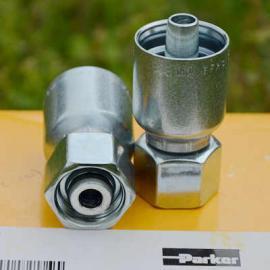 【批发零售】进口PARKER派克扣压式液压油管直接头