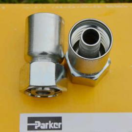 【厂价批发】进口PARKER派克一体式液压油管直接头