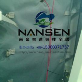 高压往复泵保温套南泉定制泵易拆装可重复使用保温套