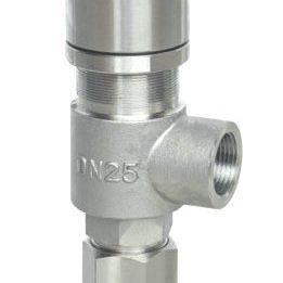 A21外螺纹弹簧微启式安全阀