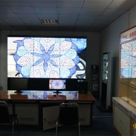 三星55寸3.5mm液晶拼接屏金属材质会议室显示屏