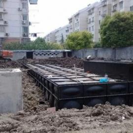 河南抗浮式地埋式消防箱泵一体化