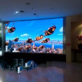 汽车4S店大厅LED电子屏用P3全彩大屏还是P4大屏幕