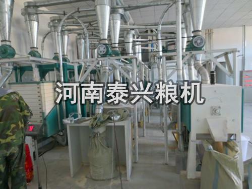 新型杂粮磨面机-玉米磨面机