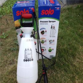 园艺花卉手提储压喷壶索逻喷雾器6L 大棚打药喷壶喷雾器