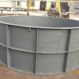 白灰化粪池道具,组合式方块化粪池道具