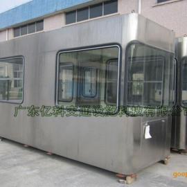收费亭HS-SFT021全包式不锈钢收费亭详细制作说明