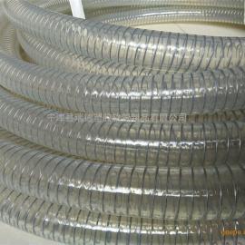耐油解钢丝平滑抽吸PU管