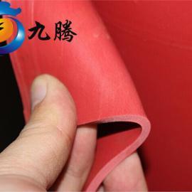 广东直销 红色绝缘垫 25KV高压绝缘胶垫