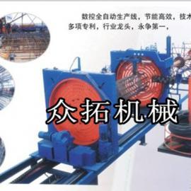 金属笼生产线全自动钢筋笼滚焊机全自动滚焊机-河北金同成机械