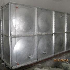 装配式不锈钢水箱 BDF镀锌板水箱 模压玻璃钢生活水箱厂家