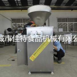 调速气动定量灌肠机,腊肠扭结灌肠机