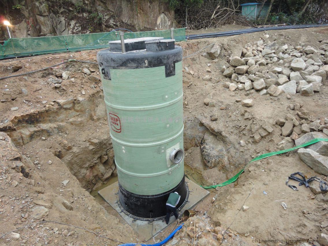 盐城金泽供水设备有限公司生产的一体化污水提升泵站