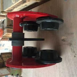 供应钢轮3T单轨小车 起重设备配件专供