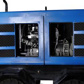 500A双把式双缸柴油发电电焊机