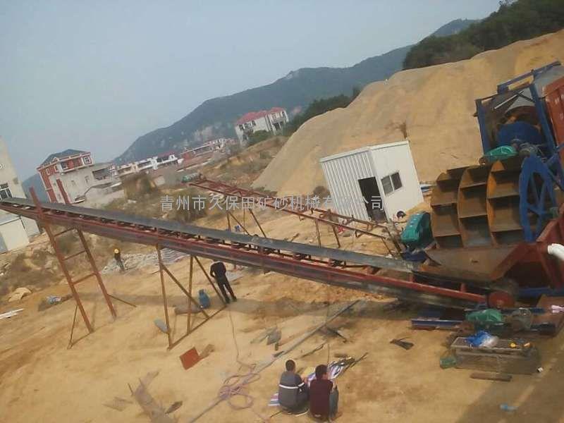 洗沙 制砂机一条龙 久保田 矿砂机械 鹅软石制砂机 破碎机