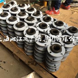 上海淞江法兰式软连接价格 2016年耐酸碱可曲挠橡胶接头厂家