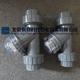 宁夏电厂配套活接PVC过滤器 银川Y型PVC活接过滤器供应