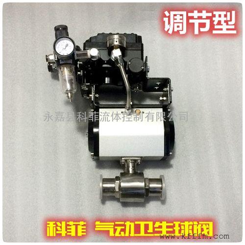 TQ681F调节型气动球阀